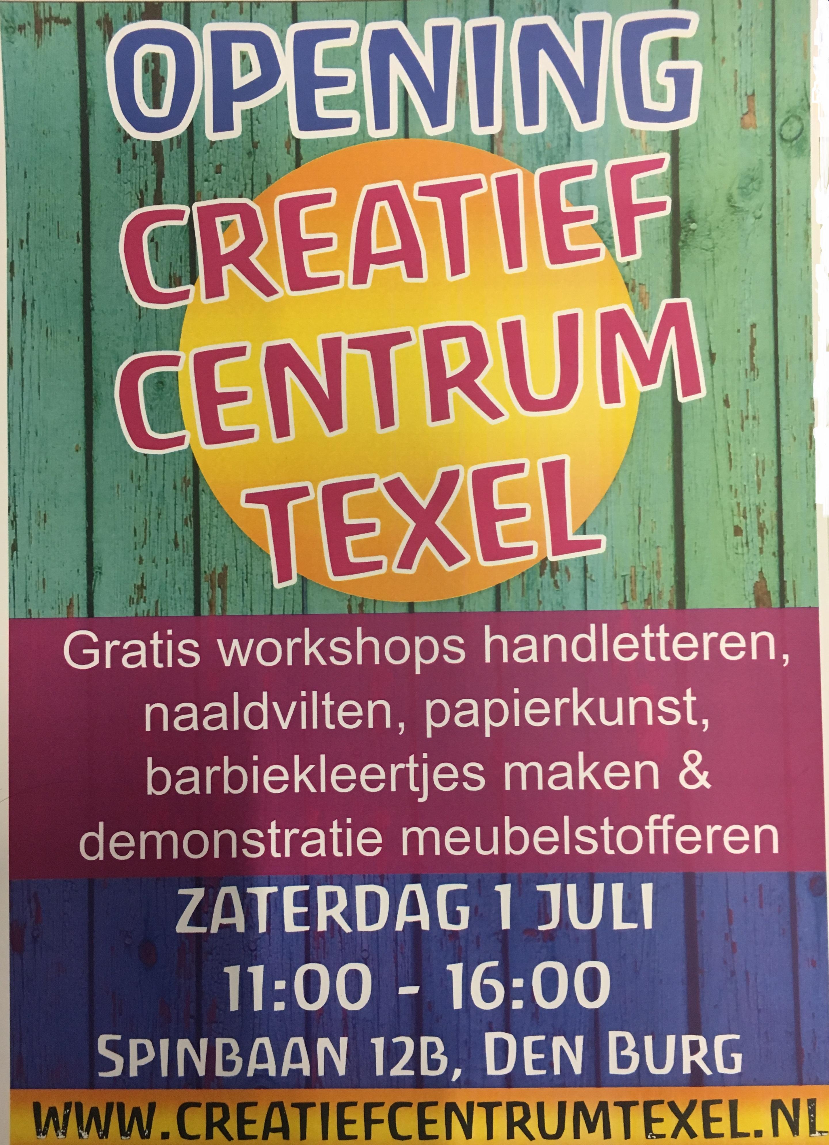 Workshops en demonstraties bij Creatief Centrum Texel