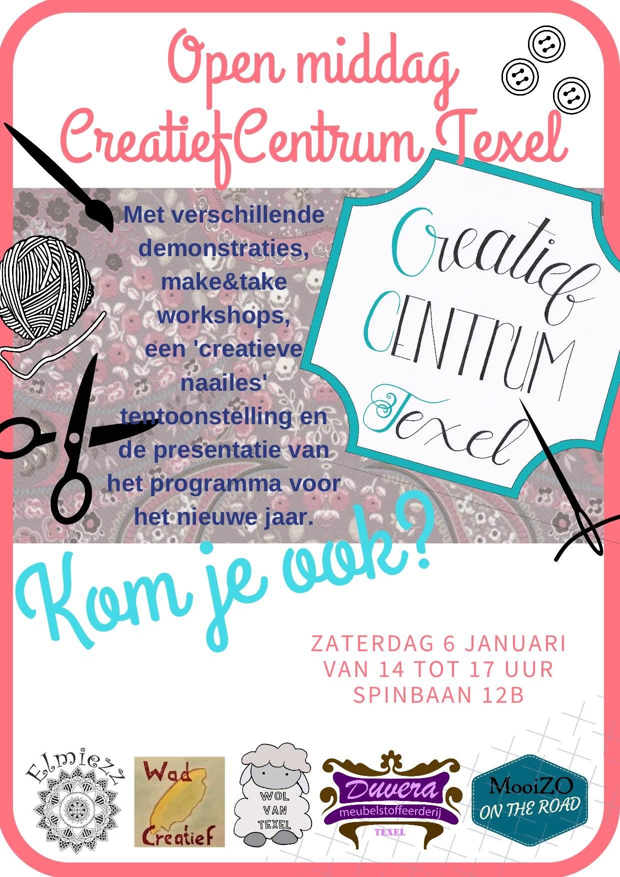Open huis 6 januari Creatief Centrum Texel