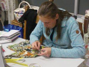 CCT Atelier MooiZO Miranda op naailes bij Els